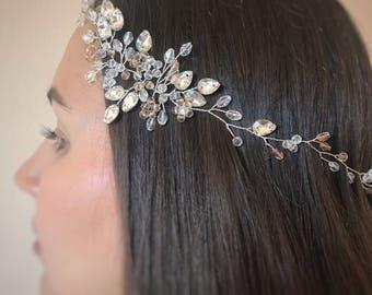 Bridal hair accessories, Wedding hair piece, Bridal headpiece, Wedding headband, Bridal hair piece, Wedding headpiece, Wedding hair vine