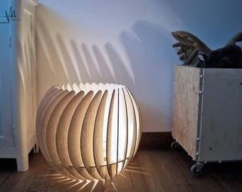 """Векторный чертеж лампа """"Лилия"""" для резки чпу. параметрический светильник конструктор"""