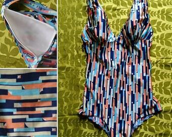 Genuine vintage women's swimsuit.