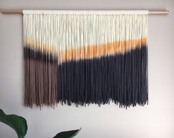 Dip dye tapestry, wall hanging, wall art, home decor