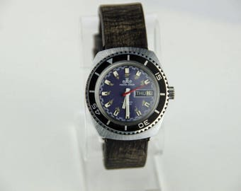 Beautiful Vintage Men's Meister-Anker Automatic Diving Watch