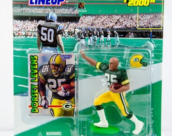 Starting Lineup NFL 1999 Dorsey Levens Action Figure Green Bay Packers
