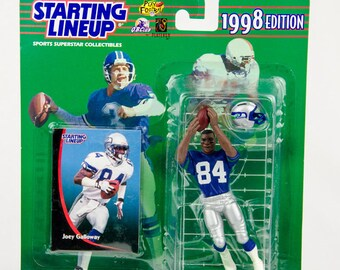 Starting Lineup 1998 NFL Joey Galloway Action Figure Seattle Seahawks