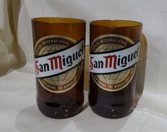 San Miguel Lager Beer Glass