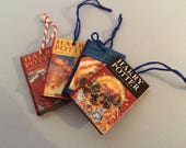 Cute Harry Potter mini book decorations