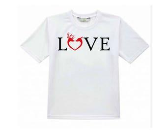 Tshirt - LOVE heart Queens