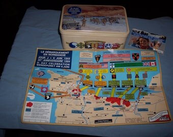 NORMANDY  D DAY TIN