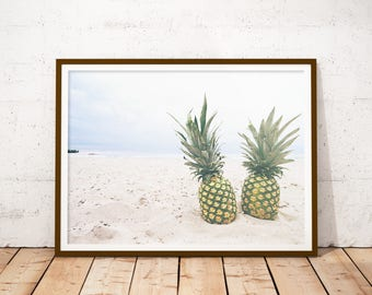 Pineapples on the Beach