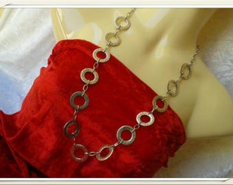 beautiful dishes and silver rings necklace