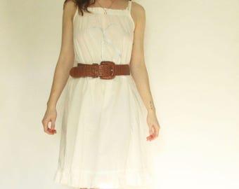 60s Style Sleep/Sun Dress S M