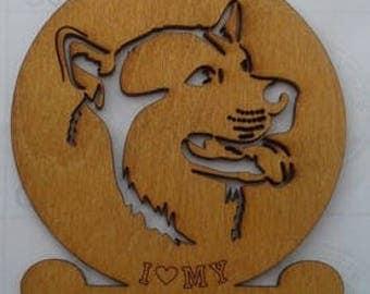 Alaskan Malamute Dog Ornament