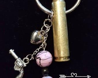 223 Caliber Bullet Key Chain