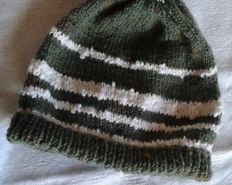 boy hand knitted wool hat