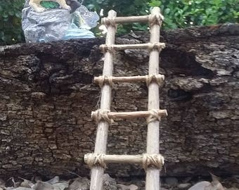Tied Fairy Garden ladder
