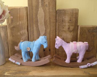 New Baby Rocking Horse Gift (baby boy or baby girl)