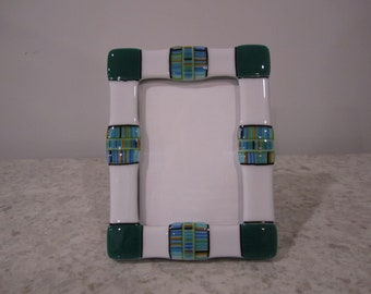 Fused Glass 5X7 Frame