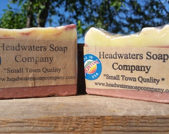 Handmade Grapefruit Citrus Soap