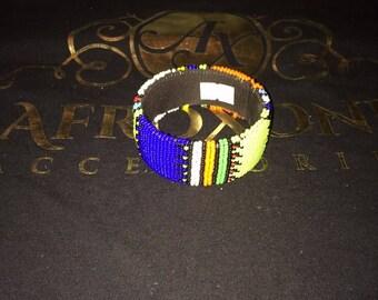 Zulu Beaded Bracelet- multicolor