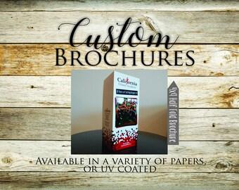 4x9 Custom Folded Brochure