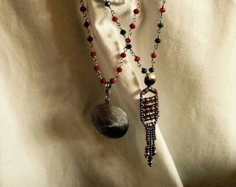 """Charm 925 silver chains """"rosarietto"""" of crafts"""
