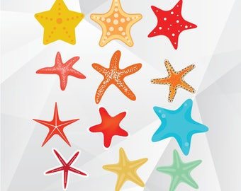 Starfish svg,png,jpg/Starfish clipart for Print,Design,Silhouette,Cricut and any more