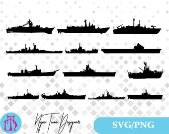Warship svg,png/Warship clipart for Print,Design,Silhouette,Cricut and any more