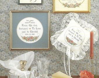 HUTSPOT HOUSE - for Weddings designed by Harriette Tew - Cross Stitch Chart |  Wedding, Shower - VINTAGE