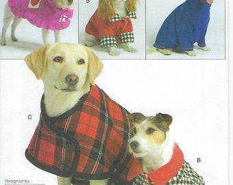 Vogue 8312 - Dog Coats