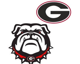 Georgia Bulldogs svg, American football svg, NFL svg files for cricut, svg for silhouette, vector cut files, svg png eps dxf