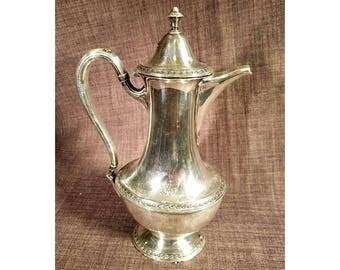 Vintage 1847 Rogers Bros Silverplate Coffee Pot Argosy 002134