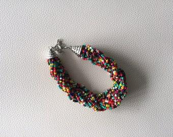 Multi color Braid bracelet