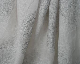 colefax and fowler eugene embroidered fabric price per meter