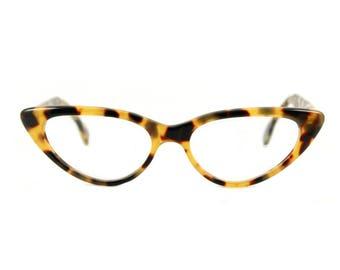 Cat eye glasses Beautiful sexy large contemporary 'BARDOT' Classic Tortoiseshell. Handmade