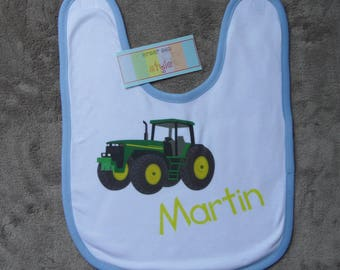 Personalized with name bib