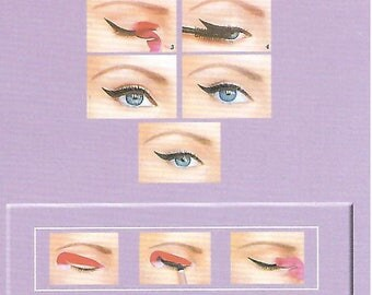 Quick Eyeliner Sticker Stencils (Classic, Cat Eyeliner, Fish Tail), 36 Pieces (18 Pairs) Total