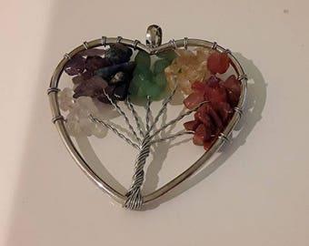 7 Heart Chakra Tree of Life