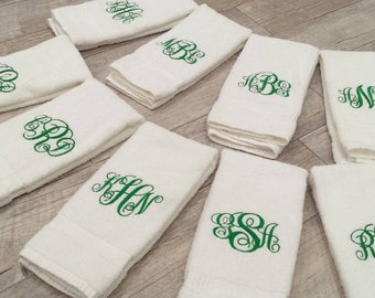 Vine Monogram Sweat Towels Gym Towels Exercise Motivational Gifts Inspirational