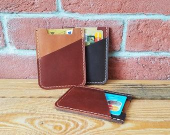 Leather Card Holder, Card Wallet, Cardholder, Minimalist