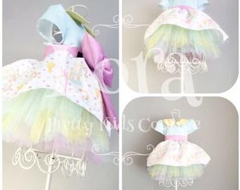Lora Carousel Print Dress