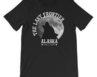 The Last Frontier Alaska Since 1959 Short-Sleeve Mens T-Shirt