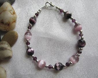 Purple Catseye Bracelet