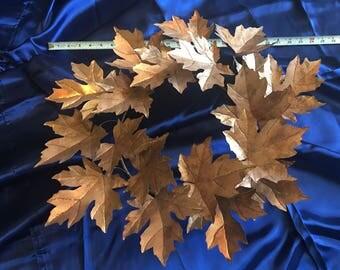 "27"" Copper Maple Leaf Wreath (Matte Finish)"