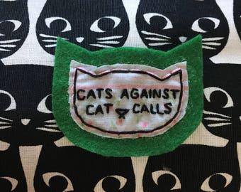 Cats Against Catcalls Patch