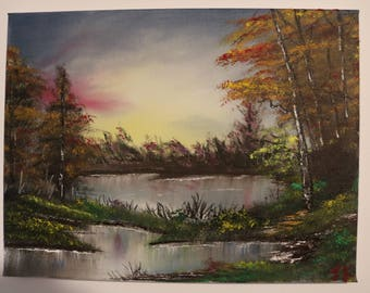 Late Spring Oil Painting