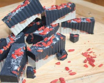 Black Magic Goji berry Charcoal Chunk
