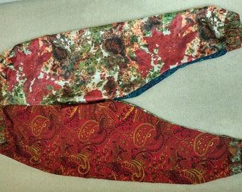 Four Panel Floral Paisley Pants