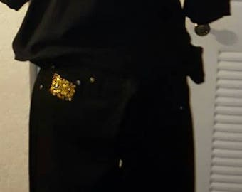 Custom blinged outfits