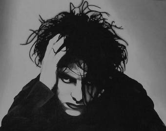 The Cure , Robert Smith poster