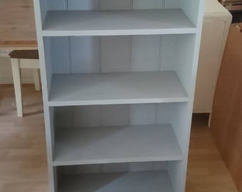 Solid pine shabby chic bookcase