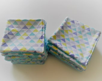 """""""Blue triangle"""" wipes individually"""